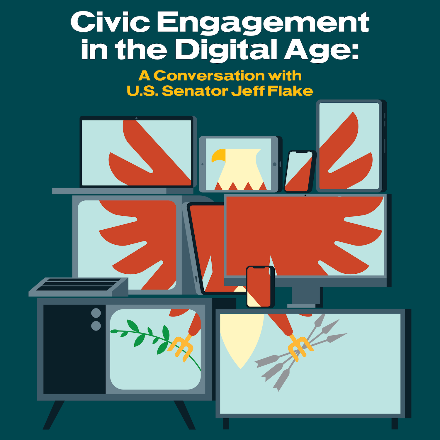 Civic Engagement in the Digital Age: A Conversation with U.S. Senator Jeff Flake