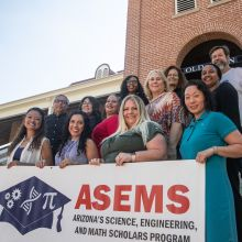The ASEMS program staff, Advisory Board, and faculty mentors, 2021-2022