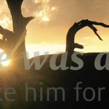 He was a man. Take him for all in all.