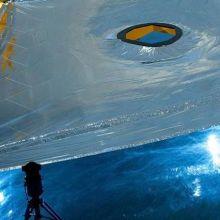 James Webb Space Telescope Sunsheild membrane testing