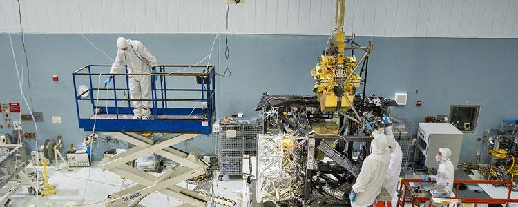 Installation of the NIRCam on to the James Webb Space Telescope, University of Arizona