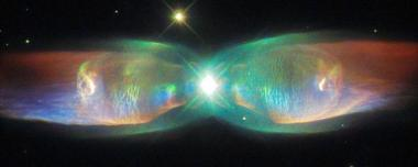 Hubble Space Telescope Twin Jet Nebula
