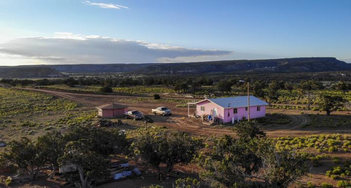 House on Navajo Nation
